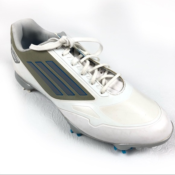 2a96f288c019 adidas Other - ADIDAS Adizero golf shoes 9 white gray soft spikes